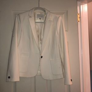 Gorgeous banana republic cream stretch blazer
